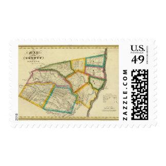 El condado de Greene Timbres Postales