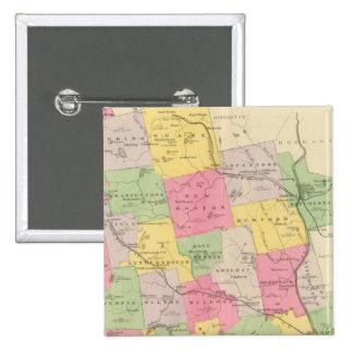 El condado de Hillsborough Pins