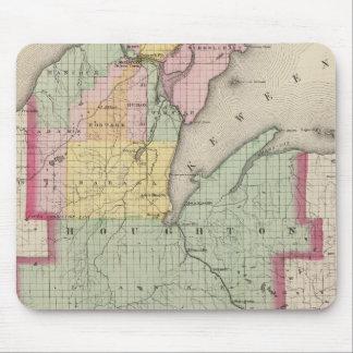 El condado de Houghton Michigan Tapetes De Ratón