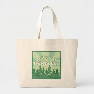 El condado de Humboldt divertido Bolsa Tela Grande