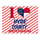 El condado de Hyde, Carolina del Norte Postal