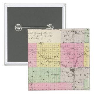 El condado de Jackson, Kansas Pin