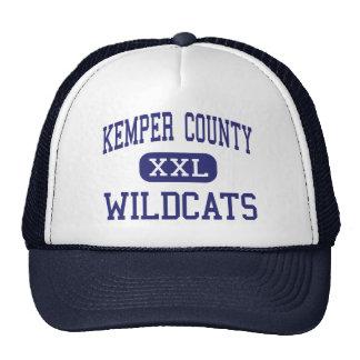 El condado de Kemper - gatos monteses - alto - De  Gorra