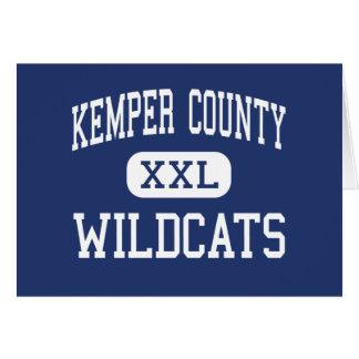 El condado de Kemper - gatos monteses - alto - De  Tarjeta De Felicitación