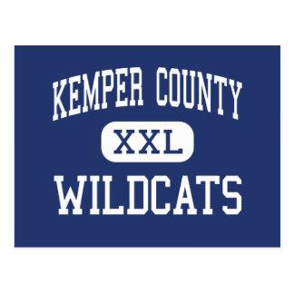 El condado de Kemper - gatos monteses - alto - De Postales