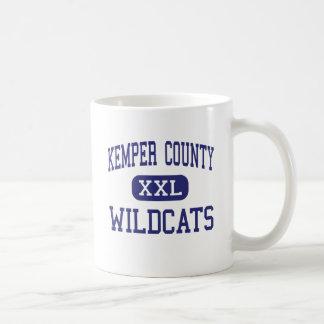 El condado de Kemper - gatos monteses - alto - De  Taza Básica Blanca