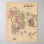 El condado de Knox, Maine Póster