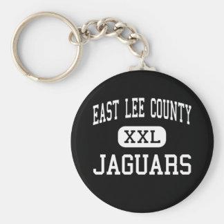 El condado de Lee del este - jaguares - alto - acr Llavero Redondo Tipo Pin