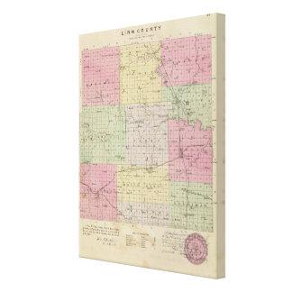 El condado de Linn, Kansas Lona Envuelta Para Galerias