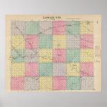 El condado de Logan, Kansas Póster