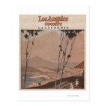 El condado de Los Angeles, California Tarjetas Postales