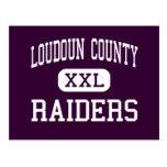 El condado de Loudoun - asaltantes entrenados para Tarjeta Postal