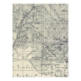 El condado de Madera, California 10 Tarjeta Postal