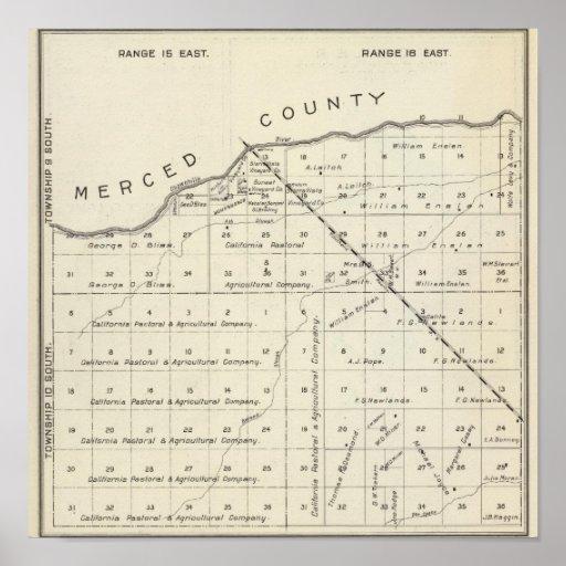 El condado de Madera, California 2 Poster
