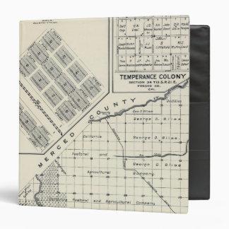 """El condado de Madera, California 3 Carpeta 1 1/2"""""""