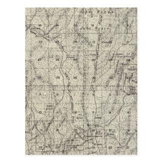 El condado de Madera, California 8 Tarjeta Postal