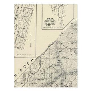 El condado de Madera, California Postales