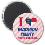 El condado de Madison, Carolina del Norte Imanes Para Frigoríficos