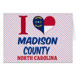 El condado de Madison, Carolina del Norte Felicitacion