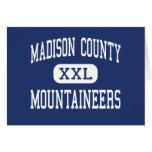 El condado de Madison - montañeses - alto - Madiso Tarjetas