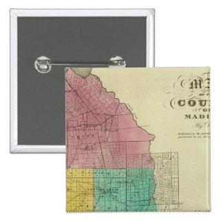 El condado de Madison Pin