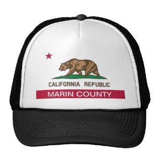 El condado de Marin California Gorros Bordados