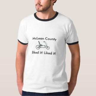 El condado de McLean, Biked lo camiseta