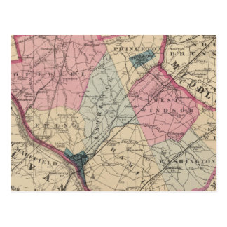 El condado de Mercer, NJ Postal