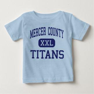 El condado de Mercer - titanes - alto - Camisetas