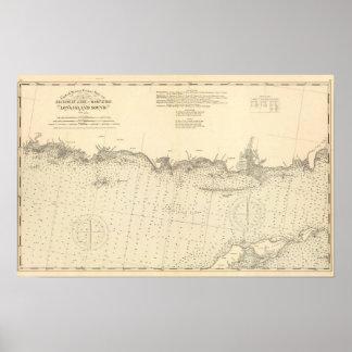 El condado de Middlesex Connecticut Póster