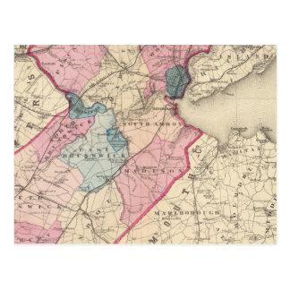 El condado de Middlesex, NJ Tarjeta Postal