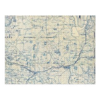 El condado de Modoc Postal