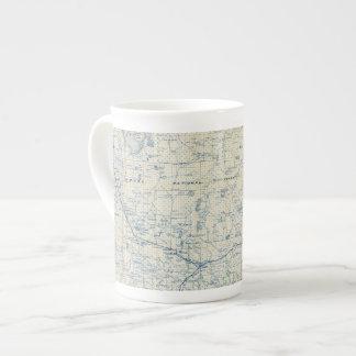 El condado de Modoc Taza De Porcelana
