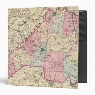 """El condado de Monmouth, NJ Carpeta 1 1/2"""""""
