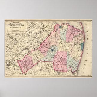 El condado de Monmouth, NJ Póster