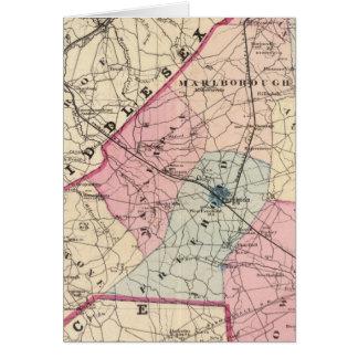 El condado de Monmouth, NJ Tarjeta De Felicitación