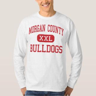 El condado de Morgan - dogos - alto - Madison Playera