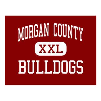 El condado de Morgan - dogos - alto - Madison Postal