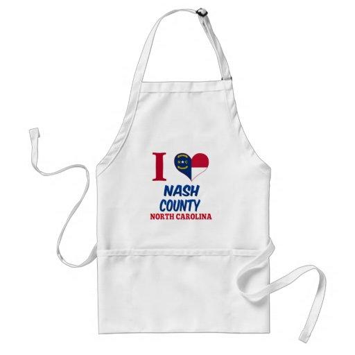 El condado de Nash, Carolina del Norte Delantales