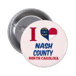 El condado de Nash, Carolina del Norte Pins
