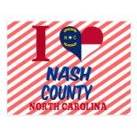 El condado de Nash, Carolina del Norte Postales