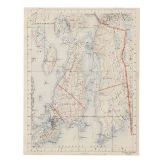 El condado de Newport, Rhode Island Cuadro