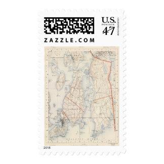 El condado de Newport, Rhode Island Timbre Postal