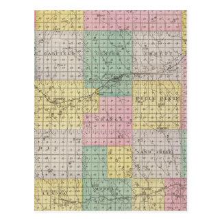 El condado de Norton, Kansas Postal