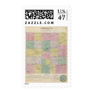El condado de Norton, Kansas Sello Postal
