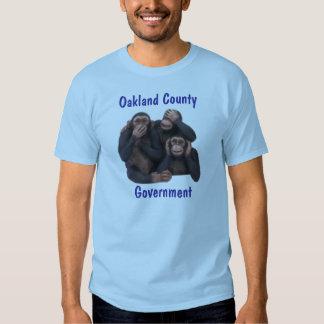 El condado de Oakland, gobierno Camisas