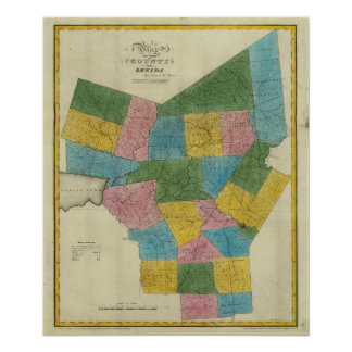 El condado de Oneida Póster