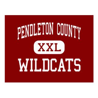 El condado de Pendleton - gatos monteses - alto - Tarjeta Postal