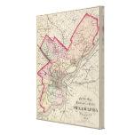 El condado de Philadelphia, ciudad Impresión En Lienzo