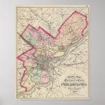 El condado de Philadelphia, ciudad Póster